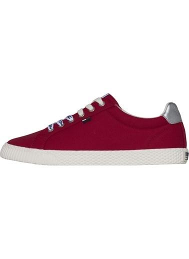 Tommy Hilfiger Kadın Tommy Jeans Casual Sne Sneakers EN0EN00125 Kırmızı
